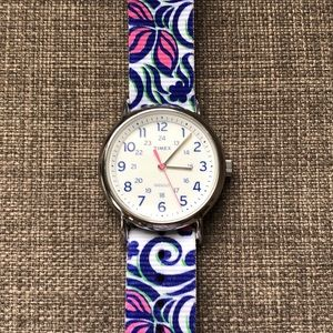 Timex Accessories - Timex Weekender Flower Power Watch